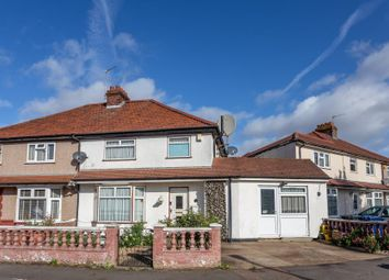 Thumbnail 4 bed flat for sale in Costons Avenue, Greenford