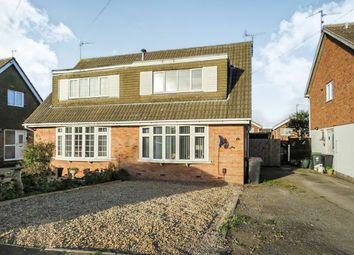 Thumbnail 3 bedroom semi-detached house for sale in Silverdale Grove, Rushden