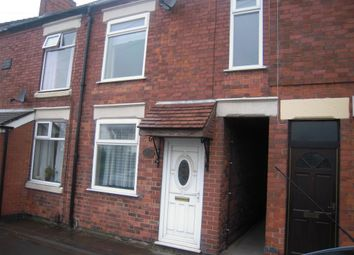Thumbnail 3 bed terraced house to rent in Leicester Road, Ibstock