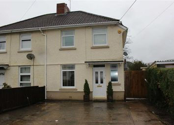 Thumbnail 3 bed semi-detached house for sale in Cae Gwyn Road, Pontarddulais, Swansea