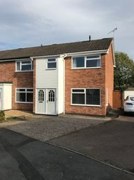Thumbnail 3 bed town house to rent in Cufflin Close, Ratby