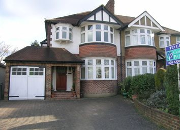 Thumbnail 3 bed semi-detached house to rent in Forestside, Worcester Park