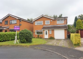 Thumbnail 4 bedroom detached house for sale in Crombouke Drive, Leigh