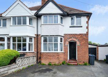 Thumbnail 3 bed semi-detached house for sale in Farlow Road, Northfield, Birmingham