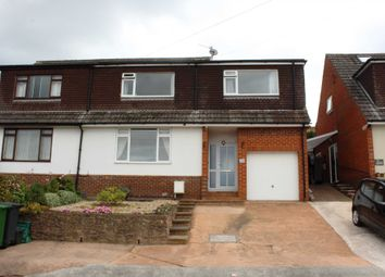 Thumbnail 4 bed semi-detached house for sale in Ashleigh Road, Exmouth