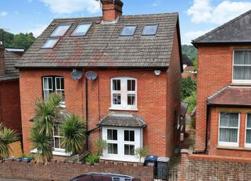 Thumbnail 3 bed semi-detached house for sale in Croft Road, Godalming