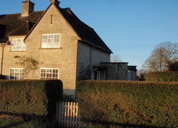 Thumbnail 3 bed semi-detached house to rent in School Lane, Overbury, Tewkesbury, Gloucestershire