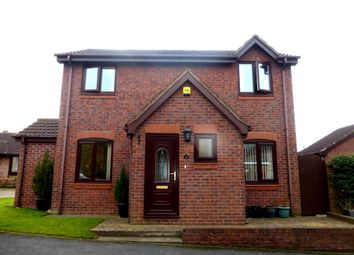 Thumbnail 3 bed detached house for sale in Danesmead Close, York