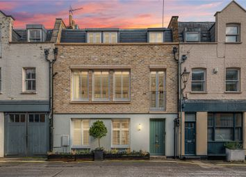 Thumbnail 4 bed mews house for sale in Devonshire Place Mews, Marylebone