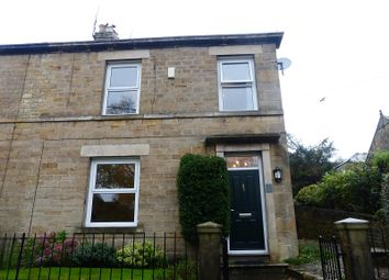 Thumbnail 3 bed semi-detached house to rent in The Terrace, Shotley Bridge