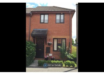 Thumbnail 2 bedroom semi-detached house to rent in Margam Crescent, Milton Keynes