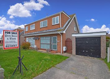 Thumbnail 3 bed semi-detached house for sale in Kinmel Way, Towyn, Abergele
