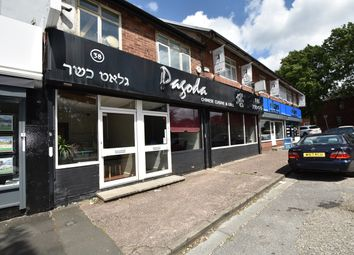 Thumbnail Commercial property to let in Bury Old Road, Whitefield, Manchester