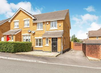 3 bed semi-detached house for sale in Murrel Close, Culverhouse Cross, Cardiff CF5
