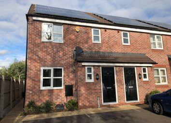 Thumbnail 3 bedroom end terrace house for sale in Knightwood Road, Leicester