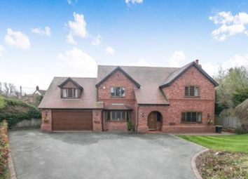 Thumbnail 5 bed detached house for sale in Pitmans Lane, Hawarden, Flintshire