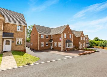 Thumbnail 4 bed detached house for sale in Ripon Court, Corby