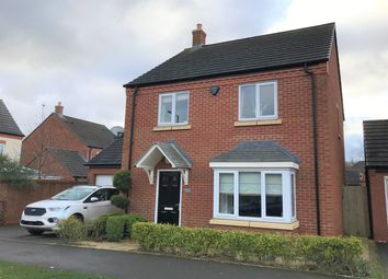 Thumbnail 4 bed detached house for sale in Priory Avenue, Hawksyard, Rugeley