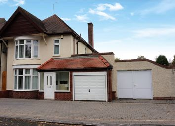 Thumbnail 3 bedroom detached house for sale in Compton Road, Wolverhampton