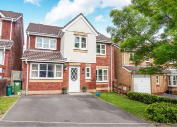 Thumbnail 4 bed detached house for sale in Delfryn, Miskin, Pontyclun