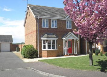 Thumbnail 3 bed detached house for sale in Thornham Way, Eastrea, Peterborough