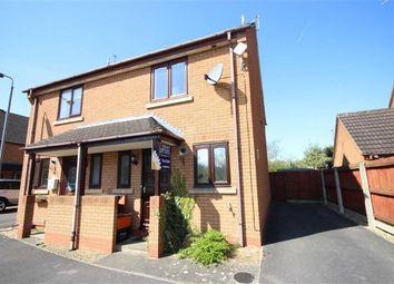 Thumbnail 2 bed semi-detached house for sale in Gold View, Rushy Platt, Swindon