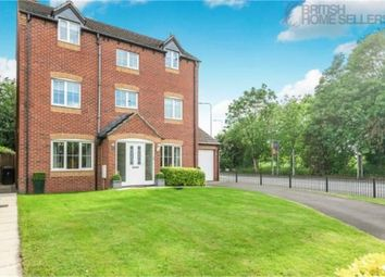 Thumbnail 4 bed detached house for sale in Summercroft Close, Golborne, Warrington, Lancashire