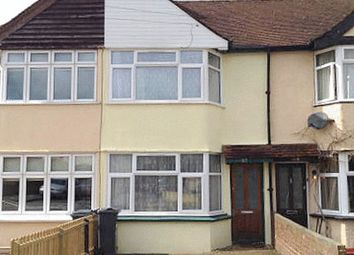 Thumbnail 3 bed terraced house to rent in Fernside Avenue, Feltham