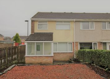 Thumbnail 3 bed terraced house for sale in Esher Court, Brunton Bridge, Newcastle Upon Tyne