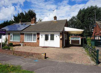 Thumbnail 3 bed semi-detached bungalow for sale in Field Way, Aldershot