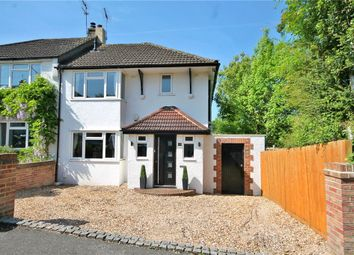 Thumbnail 4 bedroom semi-detached house for sale in Shelvers Spur, Tadworth