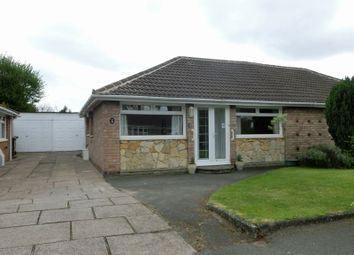 Thumbnail 2 bed semi-detached bungalow for sale in Bronte Close, Shirley, Solihull