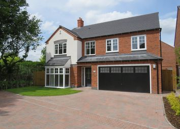 Thumbnail 5 bed detached house for sale in Knightswood Close, Rosliston, Swadlincote