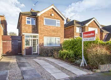 Thumbnail 3 bedroom detached house for sale in Bollington Road, Oadby, Leicester