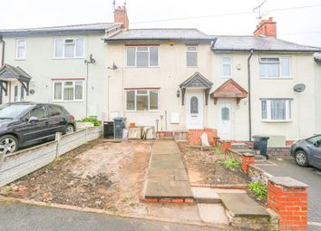 Thumbnail 3 bed terraced house to rent in Hillside Avenue, Halesowen, West Midlands