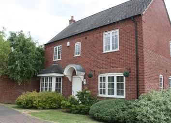 Thumbnail 3 bed detached house for sale in Pipistrelle Drive, Market Bosworth