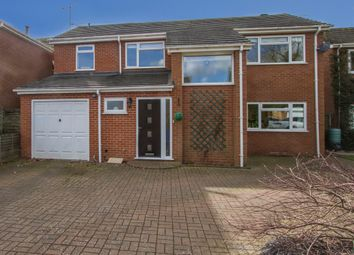 Thumbnail 4 bed detached house for sale in Elm Grove, Balsall Common, Coventry