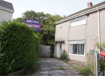 Thumbnail 2 bedroom end terrace house for sale in Creswell Road, Morriston