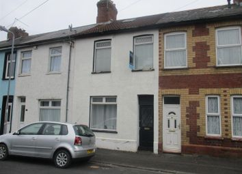 Thumbnail 3 bed terraced house for sale in Wedmore Road, Cardiff
