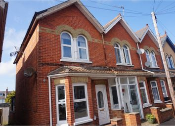 Thumbnail 2 bed end terrace house for sale in St .Davids Road, East Cowes