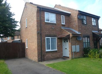 Thumbnail 1 bedroom semi-detached house to rent in Lark Road, Watlington, King's Lynn