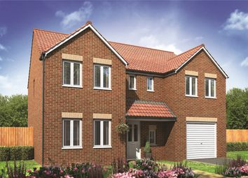 "Thumbnail 5 bed detached house for sale in ""The Edlingham "" at Otley Road, Beckwithshaw, Harrogate"