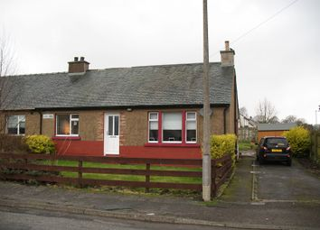 Thumbnail 3 bed semi-detached bungalow for sale in Evan Road, Beattock, Moffat, Dumfries And Galloway.