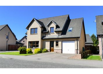 Thumbnail 4 bed detached house for sale in The Rowans, Insch, Aberdeenshire