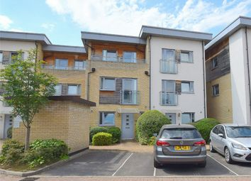 Thumbnail 4 bed town house for sale in Percy Green Place, Stukeley Meadows, Huntingdon, Cambridgeshire