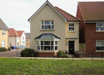 Thumbnail 4 bed detached house for sale in Thompson Close, Haverhill