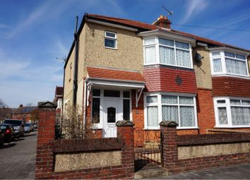 Thumbnail 3 bed end terrace house for sale in Northwood Road, Portsmouth