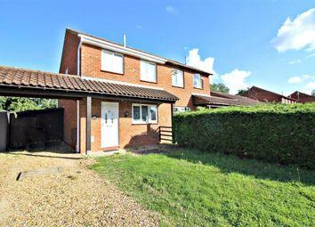 Thumbnail 3 bedroom semi-detached house to rent in Challacombe, Furzton, Milton Keynes