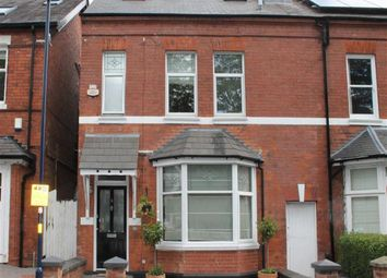 Thumbnail 4 bedroom semi-detached house for sale in Woodville Road, Harborne, Birmingham