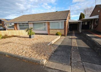 Thumbnail 2 bedroom semi-detached bungalow to rent in York Crescent, Newton Hall, Durham